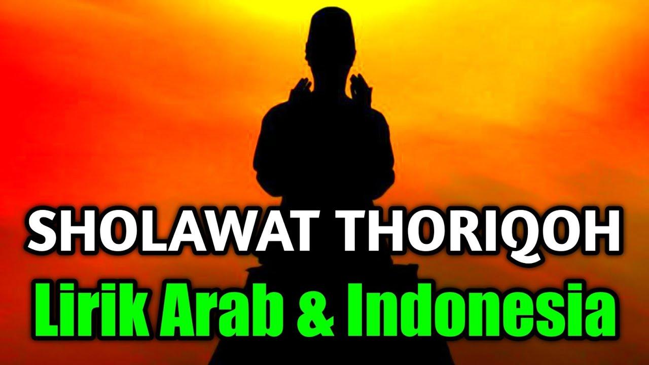 Teks Sholawat Thoriqiyah Lengkap Arab Latin dan Artinya