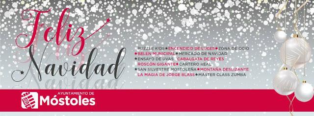 Programación de Navidad 2017 - 2018 en Móstoles
