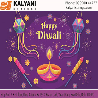Diwali Festival Wishes - Kalyani Springs Manufacturers, Supplier, Distributers