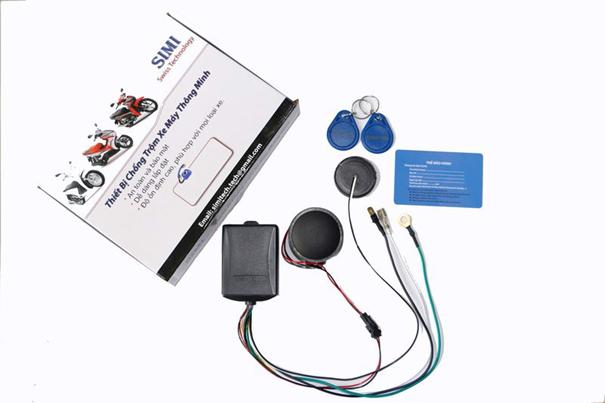 Thiết bị chống trộm xe máy Honda - Tú Anh GPS 01