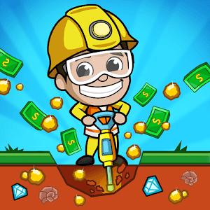 تحميل لعبة زعيم المناجم Idle Miner Tycoon النسخة المهكرة