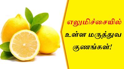 Lemon Benefits in Tamil