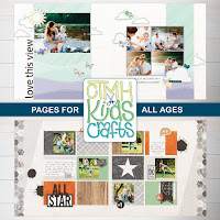 CTMH Kids Crafts - Pages For All Ages Special
