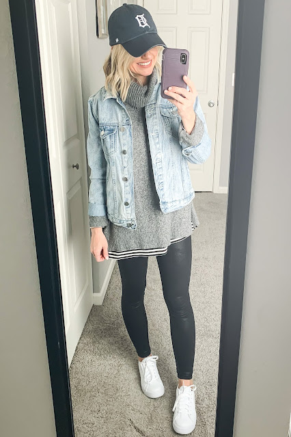 How to Wear White Sneakers || Affordable Mom-friendly outfit ideas