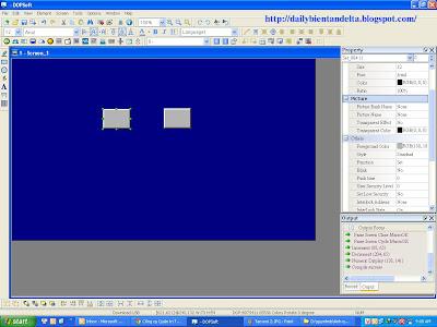 Hướng dẫn tạo nút nhấn ON OFF trên màn hình cảm ứng HMI Delta B07S411