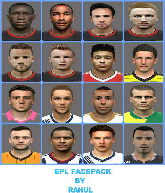 PES 2016 Premier League Facepack
