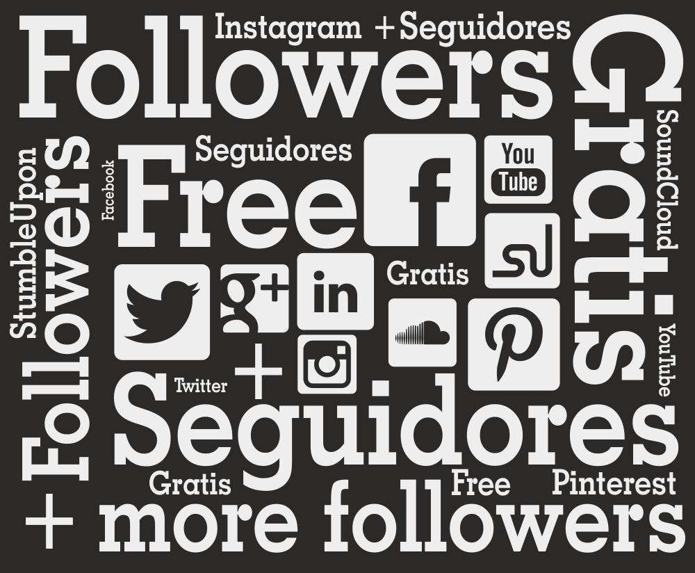 Cómo conseguir cientos de seguidores gratis en redes sociales