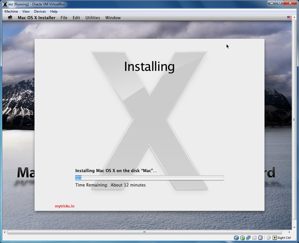 Guide] Installing Mac OS X Snow Leopard in VirtualBox 4 1 4