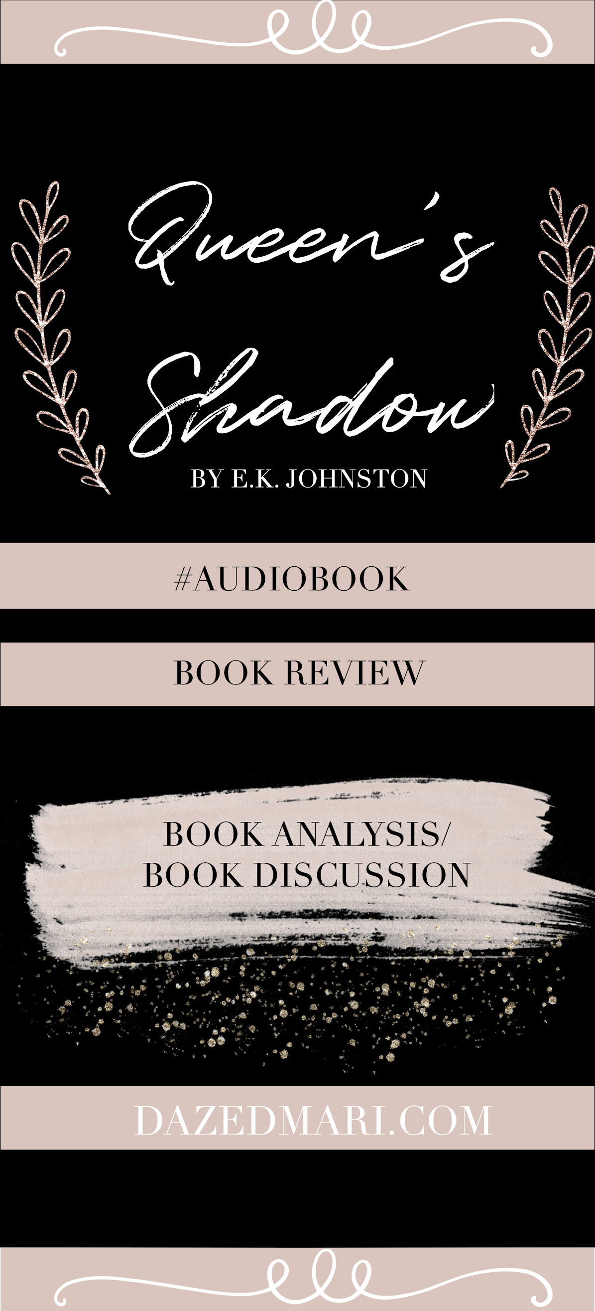 Book Review - Queen's Shadow by E.K. Johnston
