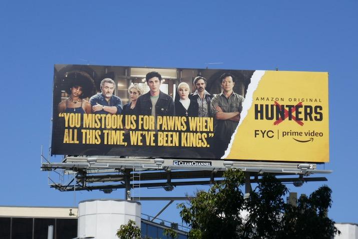 Hunters season 1 FYC billboard