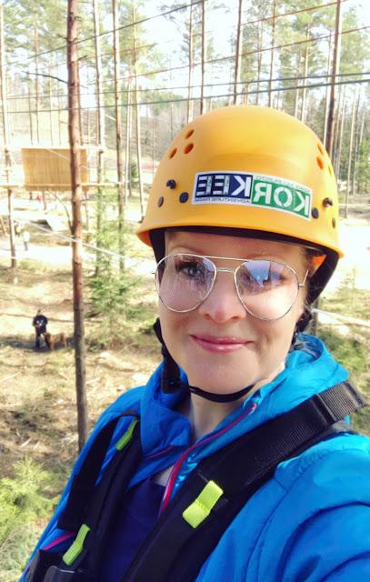 Uusi köysiseikkailupuisto avattiin Helsingin Paloheinään 9