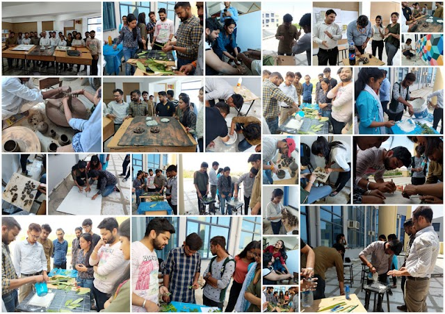 Clay Modelling Workshop for Students - Nims University