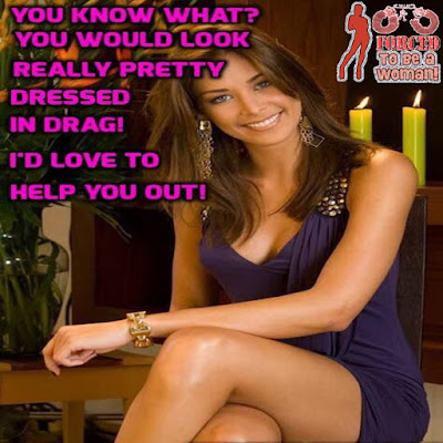 Pretty in drag Sissy TG Caption - Dream TG - Crossdressing and Sissy Tales and Captioned images