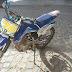 NI e com apoio da CPTRAN recuperam Moto de trilha  furtada no centro de Cajazeiras