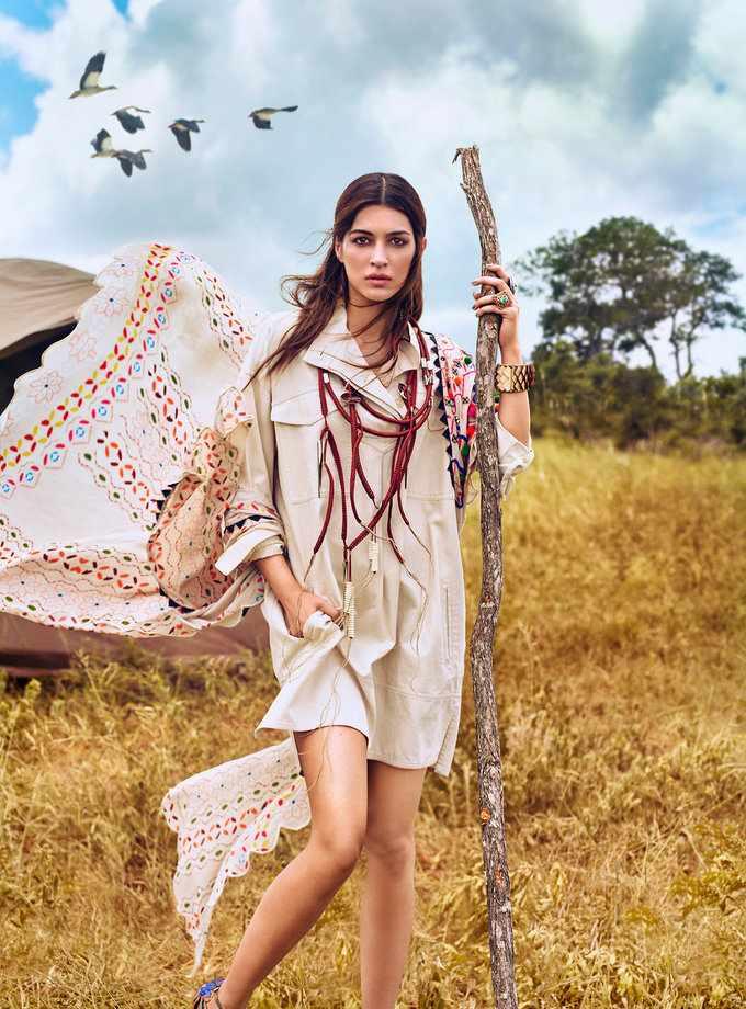 Kriti Sanon In Vogue India April 2017 Photoshoot