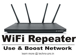Internet Speed Booster, WiFi Repeater, What does means [explained]