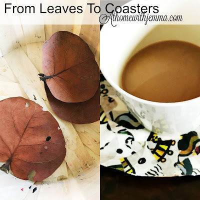 creativity-diy-leaves-coasters-Jemma