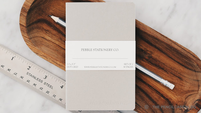 Pebble stationery notebooks