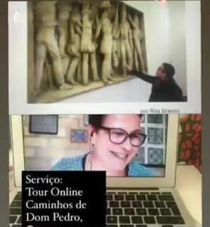 Tour virtual sobre o D. Pedro IV de Portugal, D. Pedro I do Brasil