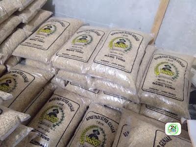 Benih Padi yang dibeli   Pak SUHARYADI Karawang, Jabar.  (Sebelum Packing)