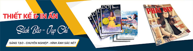 quảng cáo Banner hình ảnh in trên báo giấy ấn phẩm tạp chí