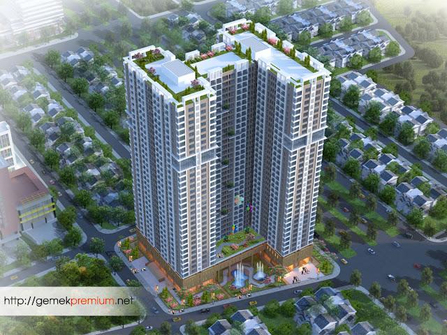 Dự án Gemek Tower và nghệ thuận bố trí căn hộ