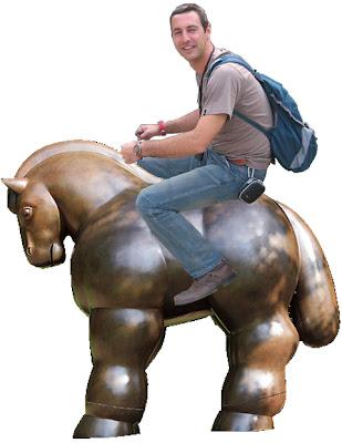 caballo Botero, fernando Botero, escultura de Botero