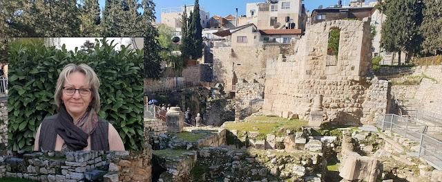 La piscine de Bethzatha à Jérusalem