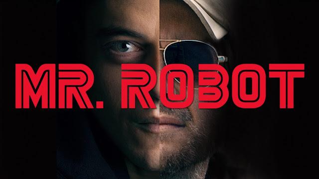 Rami Malek a la izquierda y Christian Slater a la derecha, imagen representativa de la serie
