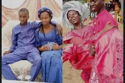 People React As Two Teenagers Wed In Nigeria (See Photos)
