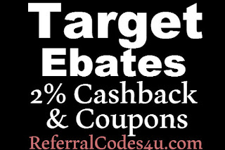 Target Ebates Cashback February, March, April, May, June, July 2016