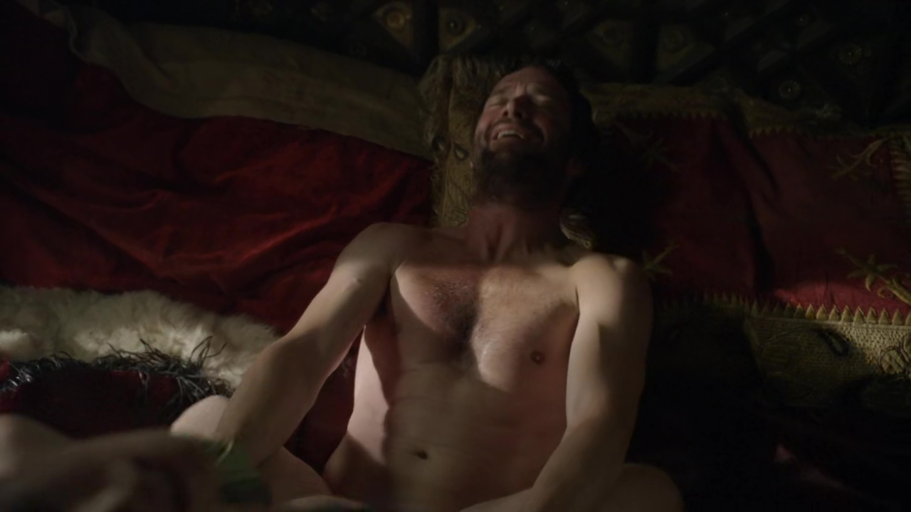 James purefoy shows his penis on altered carbon