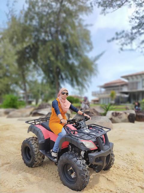 Aktifitas  ATV  holiday Villa