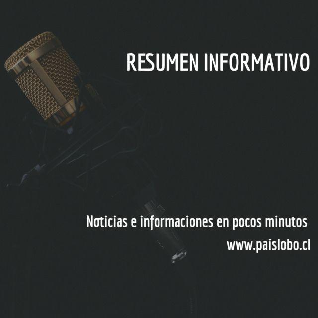 Resumen Informativo Podcast - Miércoles 13 de Noviembre de 2019