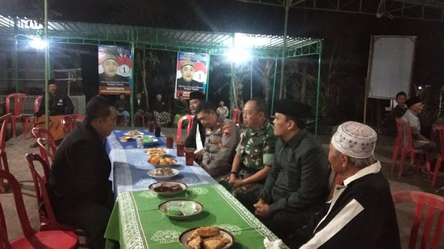 Muspika Kecamatan Manisrenggo Sambangi Calon Kepala Desa