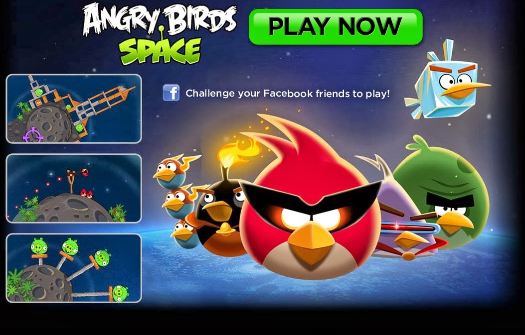 Angry Birds Space Game Review - Download and Play Free ...