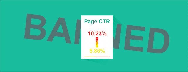 Penyebab Serta Cara Menurunkan RKT Atau CTR Iklan Google Adsense yang Tinggi