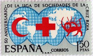 50 ANIVERSARIO DE LA LIGA DE SOCIEDADES DE LA CRUZ ROJA