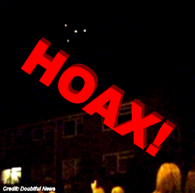 UFO Hoax Over Turkey