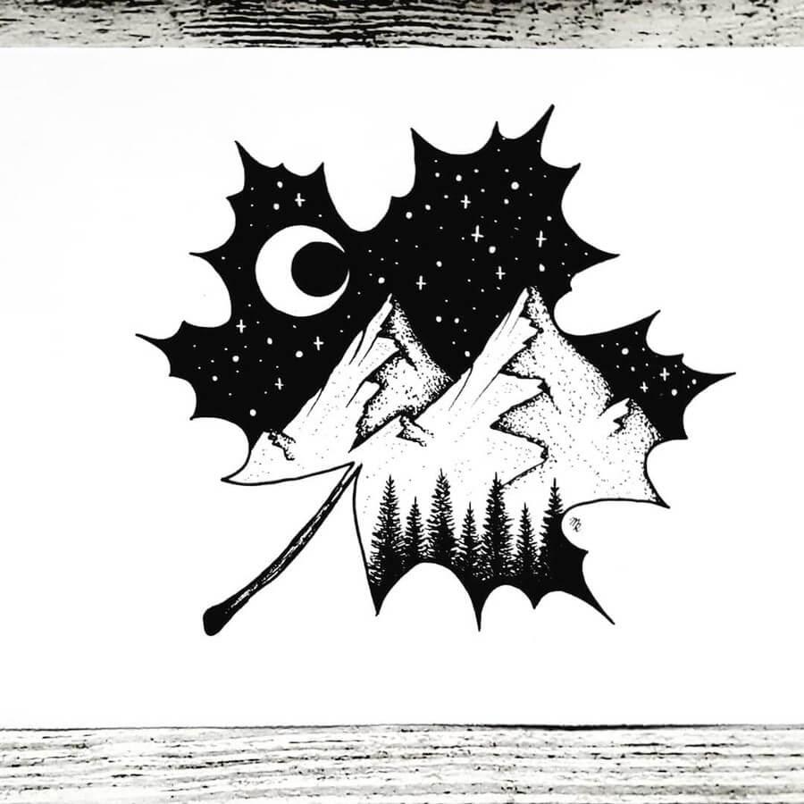 12-Clear-Moon-Night-Mandy-Razik-www-designstack-co