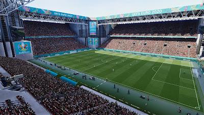 PES 2021 Stadium Telia Parken EURO 2020