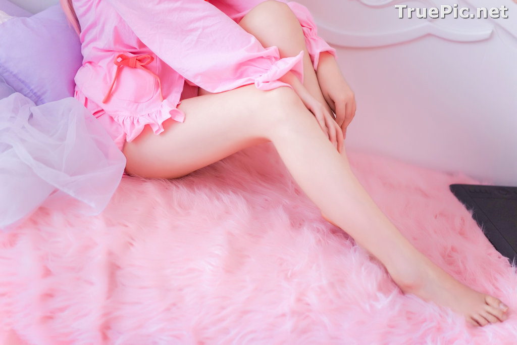 Image [MTCos] 喵糖映画 Vol.048 - Chinese Cute Model - Lovely Pink - TruePic.net - Picture-5