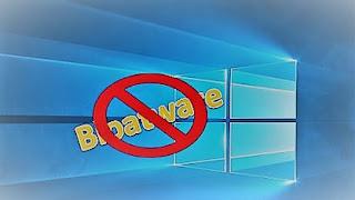 الغاء خاصية Bloatware في ويندوز 10
