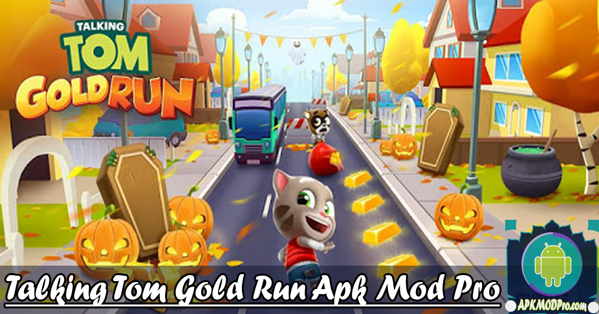 Download Talking Tom Gold Run Mod APK V4.0.0.477 (Unlimited Money) Terbaru 2020