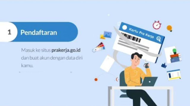 Cara Daftar Kartu Prakerja Gelombang 4 Login di www.prakerja.go.id, Insentif 3,5 Juta