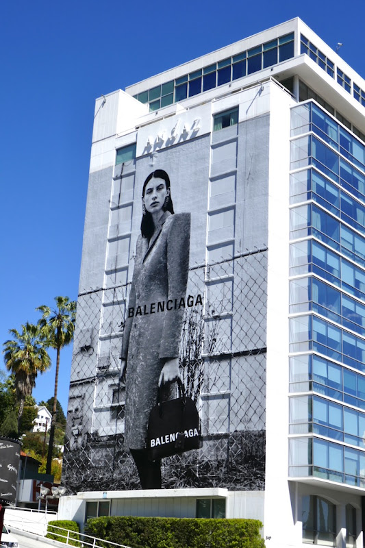 Giant Balenciaga Spring 2019 billboard
