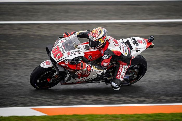 Takaaki Nakagami siap perjuangankan podium pertamanya di MotoGP Valencia 2020, Minggu (15/11).