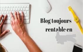 blog et gain d'argent