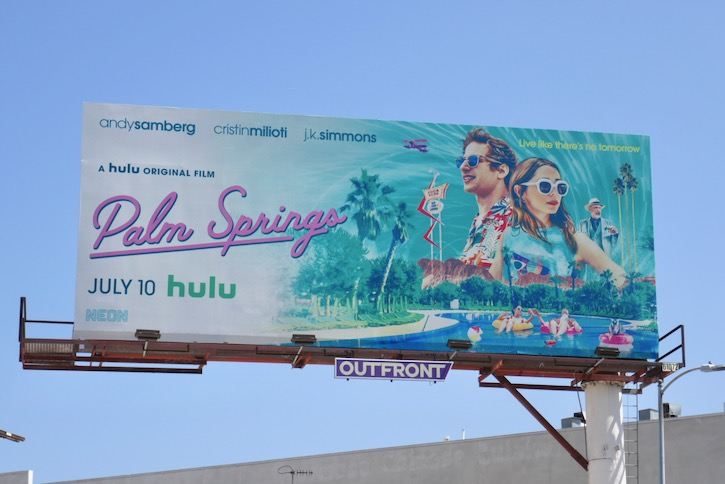 Palm Springs movie billboard