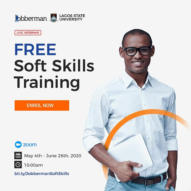 Jobberman - LASU Online Soft Skills Acquisition Training Schedule 2020